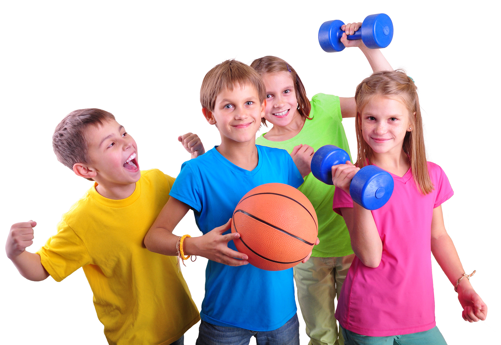 Gambar : Anak hobi berolahraga